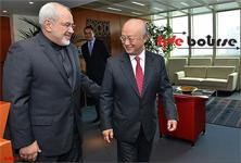 ظریف در دیدار با آمانو: امیدواریم با اجرای نقشه راه به فضای جدیدی از همکاریها وارد شویم