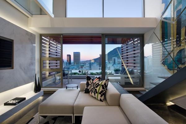 تبدیل فضایی باریک و کوچک به یک آپارتمان معاصر