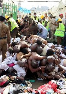 جدید ترین تصاویرحادثه اسفناک منا بیانگر بی کفایتی و خیانت ال سعود است