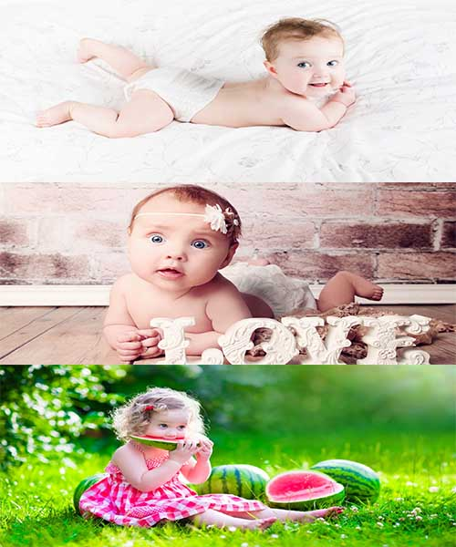 جدیدترین عکس ها از بچه های قشنگ و زیبا