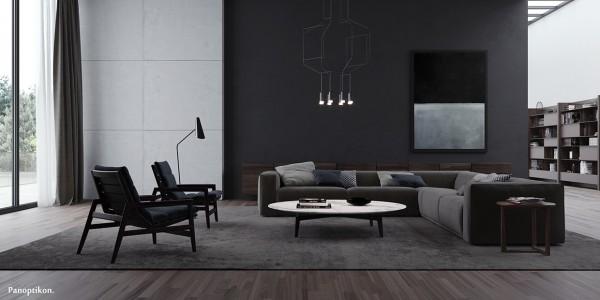 طراحی و اجرای اتاق نشیمن