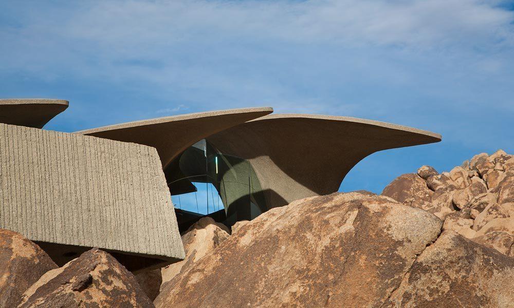 طراحی معماری و دکوراسیون ویلا در کویر
