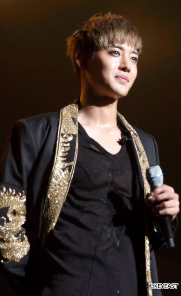 [Photo] Kim Hyun Joong Japan Mobile Site Update [2015.10.02]