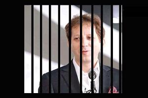بابک زنجانی در لباس زندان+عکس , سیاسی