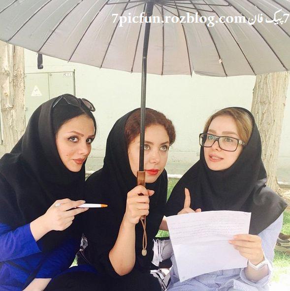 جدیدترین تصاویر الناز حبیبی مهر 94
