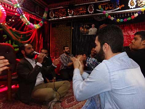مراسم جشن عید غدیر مراسم هیئت زوّارالحسین(ع) در حسینیه شهید دولت آبادی