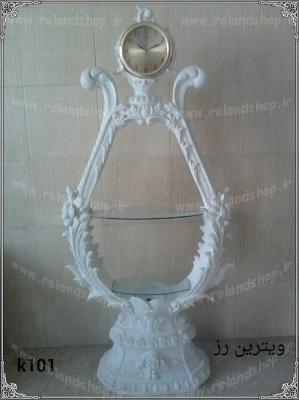ساعت ویترین ، مجسمه پلی استر، تولید مجسمه، مجسمه رزین، مجسمه، رزین، ساخت مجسمه، پلی استر