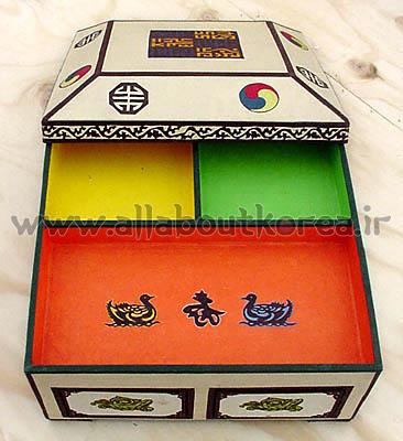 طرح ها و نمادهای سنتی کره ای