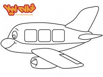 رنگ امیزی الاغ تصویر رنگ آمیزی نقاشی های هواپیمای کارتونی