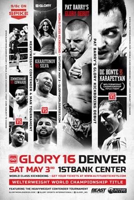 دانــلود مسابقات گلوری 16    kickboxing    Glory 16: Denver