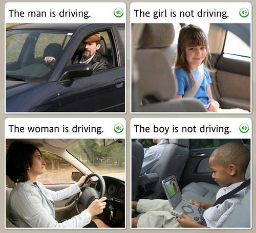آموزش زبان به صورت تصویری