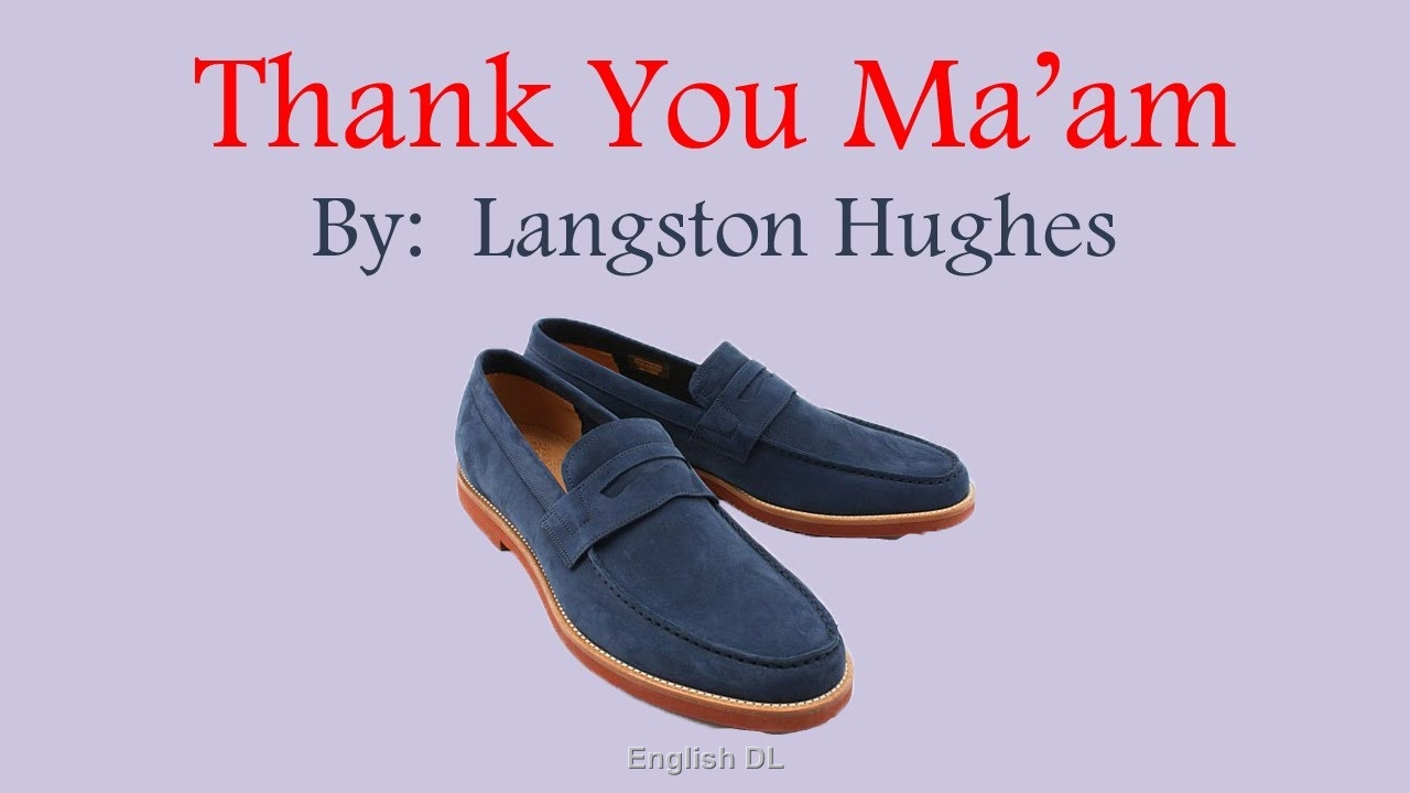 Compassion in langston hughes thank you