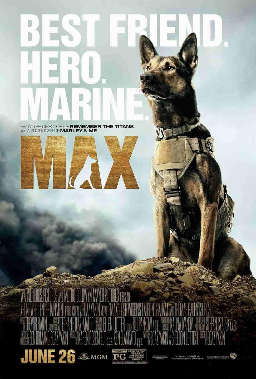 فیلم Max 2015