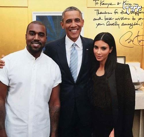 شوخی اوباما با خواننده ی مشهور , اجتماعی