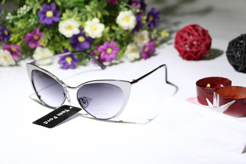 عینک زنانه تام فورد شیشه نقره ای
