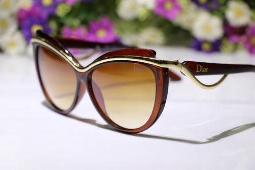 عینک آفتابی زنانه دیور ارکید قهوه ای