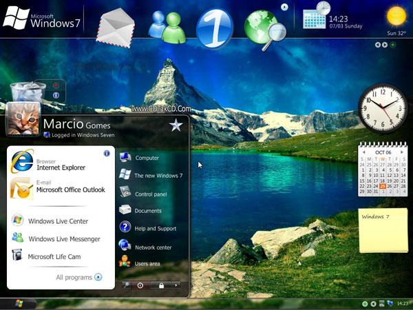 والپیپر ویندوز 7 windows