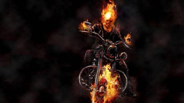 تصاویر موتور روح سوار