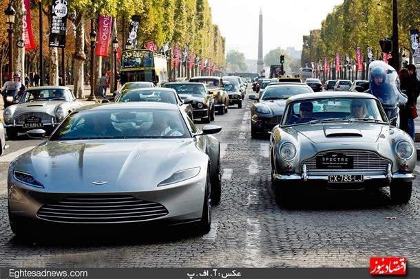 تصویر خودروی جدید فیلم جیمز باند , اتومبیل ها