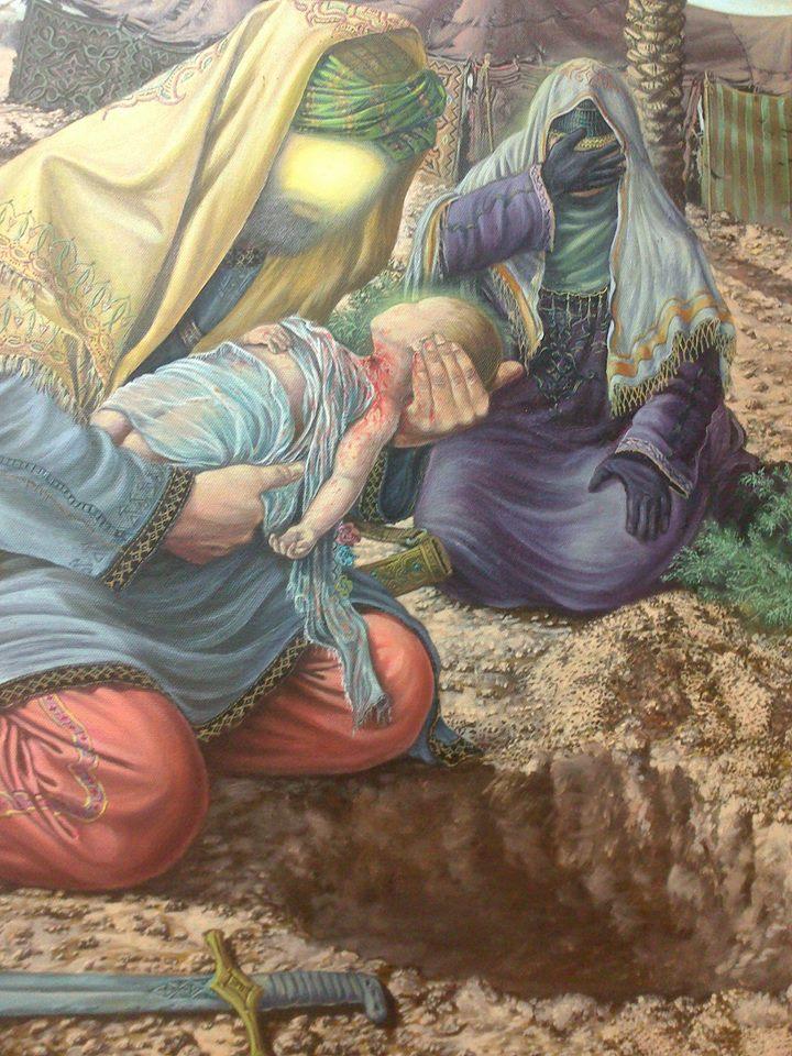 مداحی برای حضرت علی اصغر