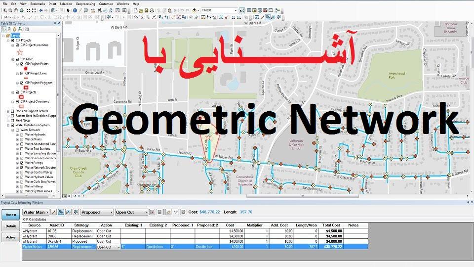 آشنایی با Geometric Network