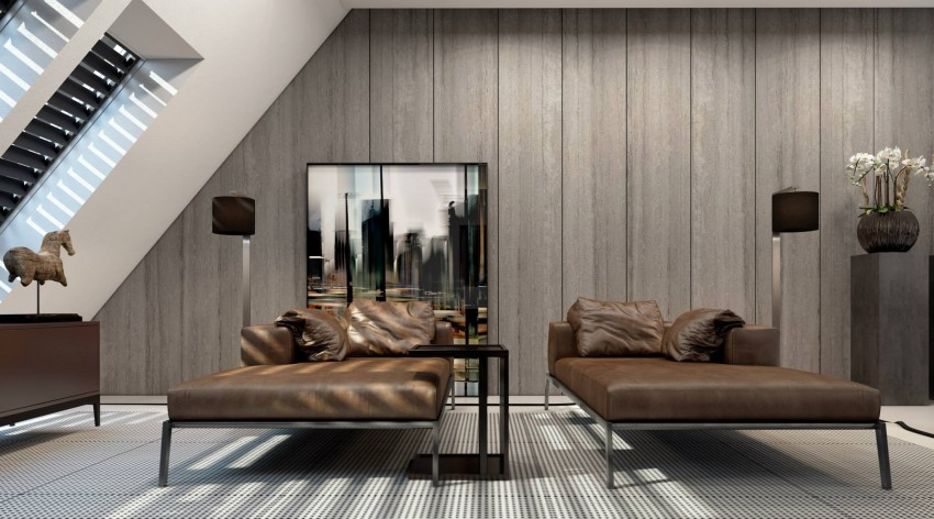 طراحی بی نظیر آپارتمان بهمراه مبلمان در دوسلدورف