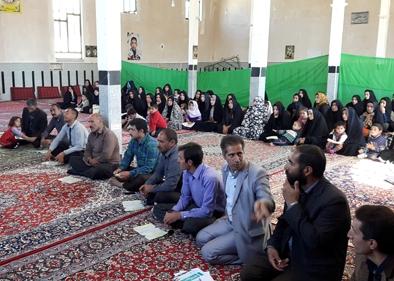 انجمن اولیا در مسجد امام علی (ع) روستای معصوم آباد میربگ