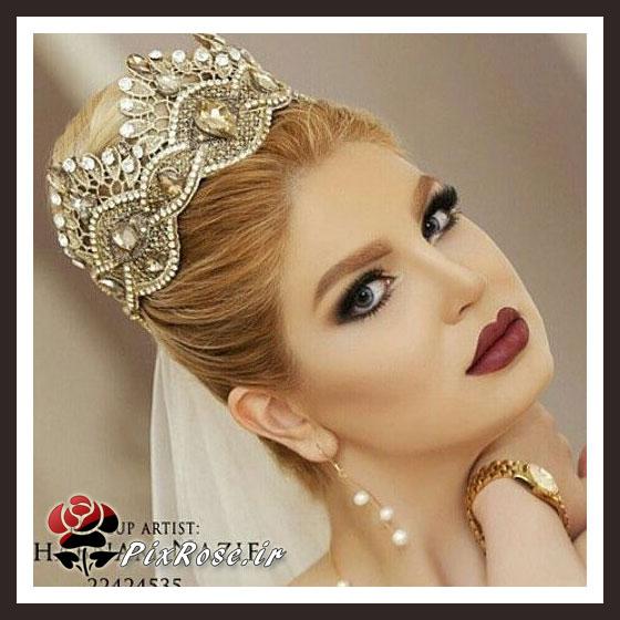 مدل موی جدیدعروس,موی عروس 94,موی عروس سال,شینیون موی عروس 2015,فیگور عروس,عروس ایرانی 2016,عروس ایرانی
