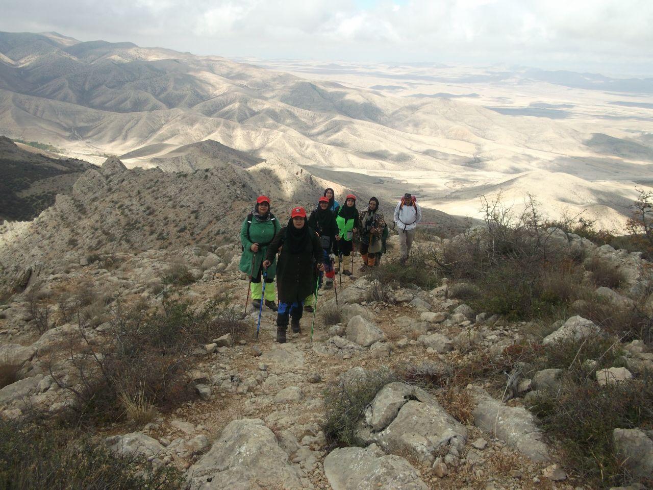 یامان دااغی میزبان 60 بانوی کوهنورد