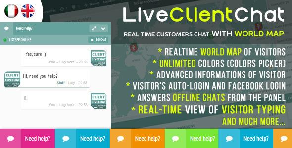دانلود رایگان افزونه چت و پشتیبانی آنلاین Live Client Chat نسخه ۱٫۰ برای وردپرس