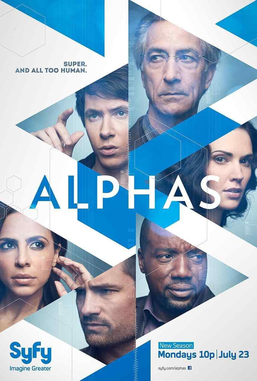 سریال Alphas فصل اول