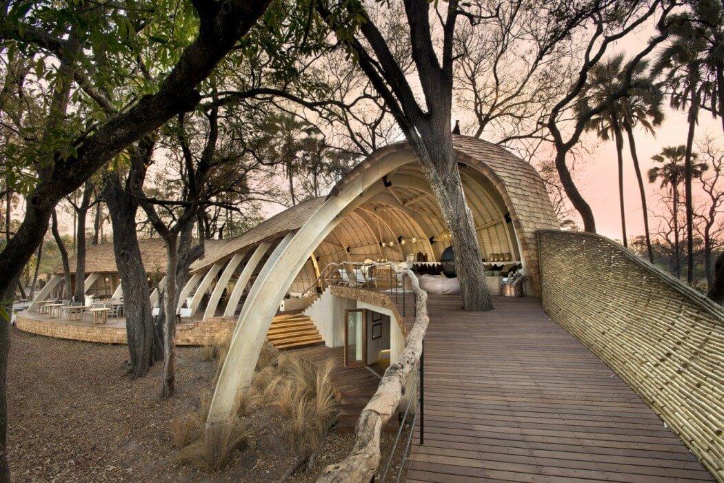 طرح استراحت گاه سافاری در بوتسوانا
