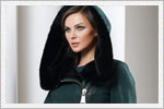 مدل پالتو کلاه دار زنانه
