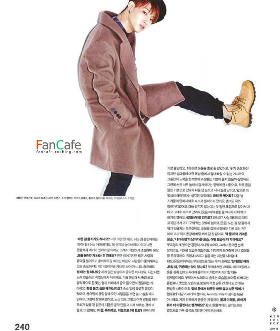 عکسهای جی بی در مجله nylon
