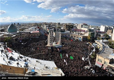 The 8th day of Muharram in Zanjan - Iran