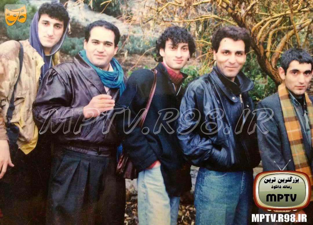 عکس جوانی مهران مدیری