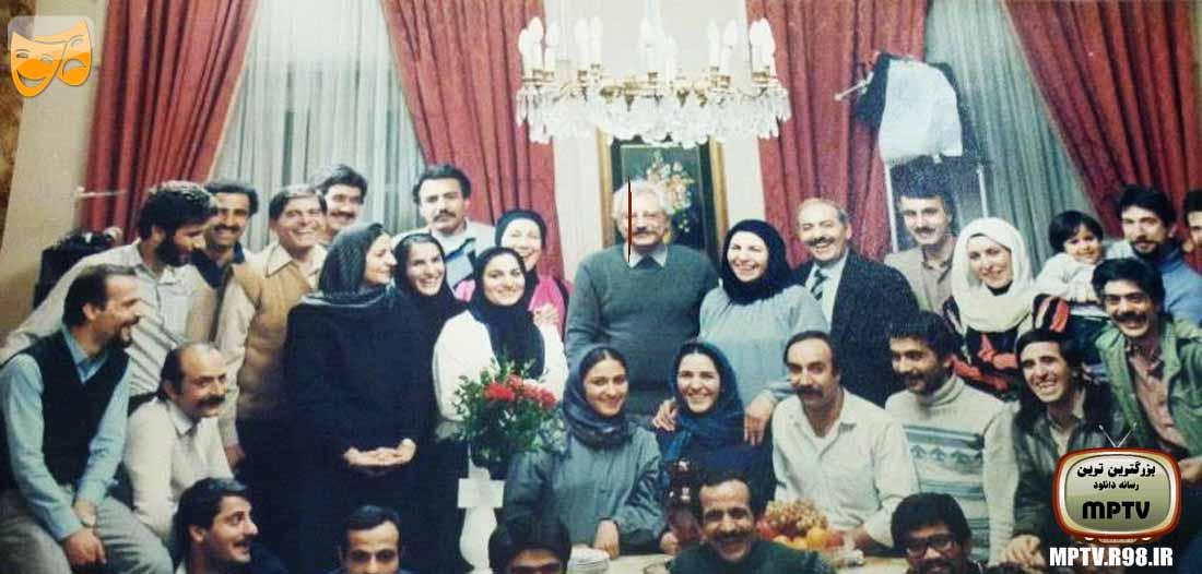 عکس خانوادگی جمشید مشایخی