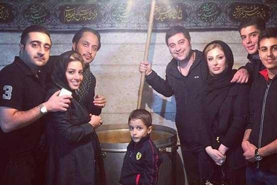 نیوشا ضیغمی در عزاداری امام حسین , عکس های بازیگران