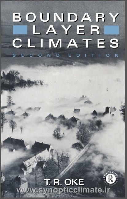 دانلود کتاب اقلیم شناسی لایه مرزی (T.R.OKE)