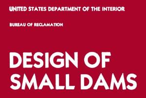 دانلود کتاب طراحی سدهای کوچک (Design of Small Dams)