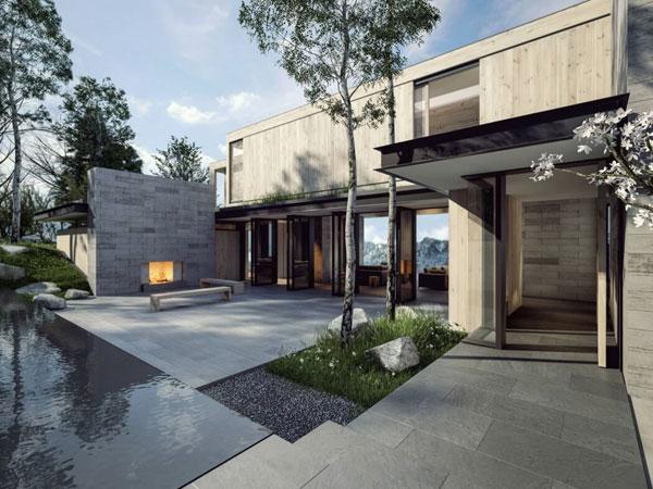 نمونه معماری زیبا در ایالت کلرادو
