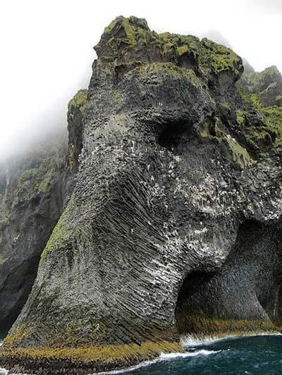 تصاویر صخره ای به شکل فیل , تصاویر دیدنی