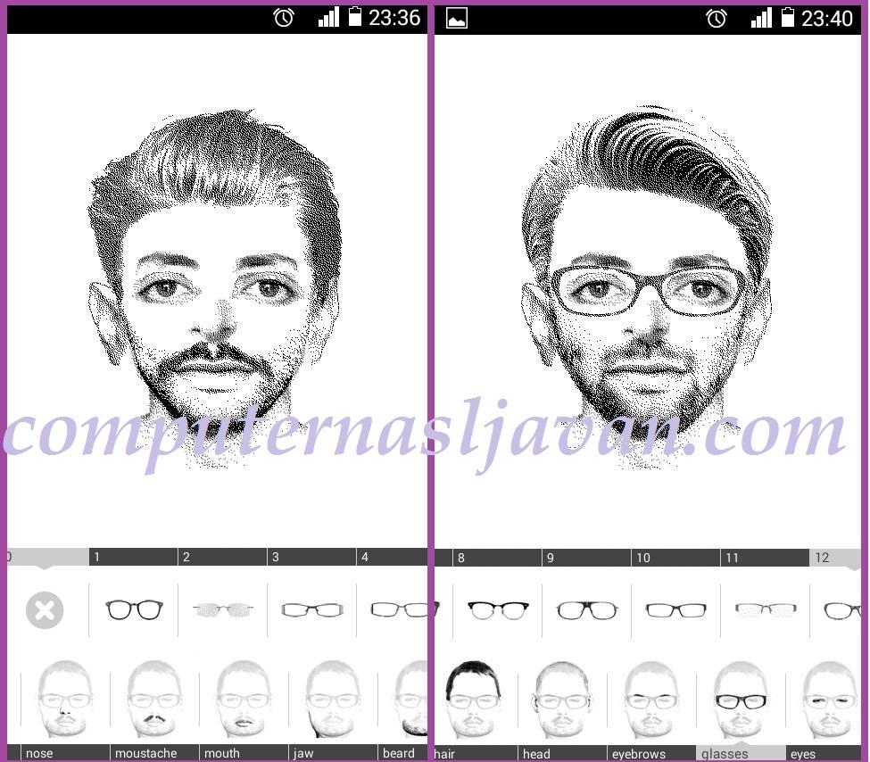 دانلود نرم افزار چهره نگاری برای اندروید