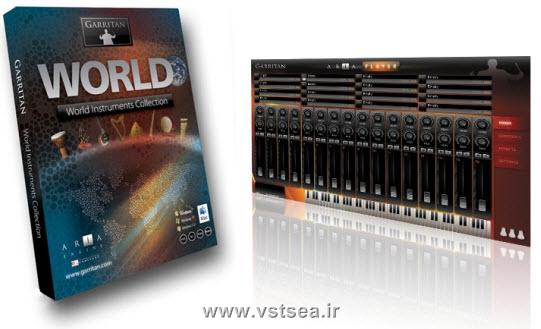 دانلود وی اس تی سازهای جهانی-Garritan World Instruments