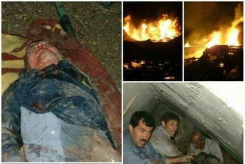 مرگ  یکی از اعضای منافقین +عکس , بین الملل