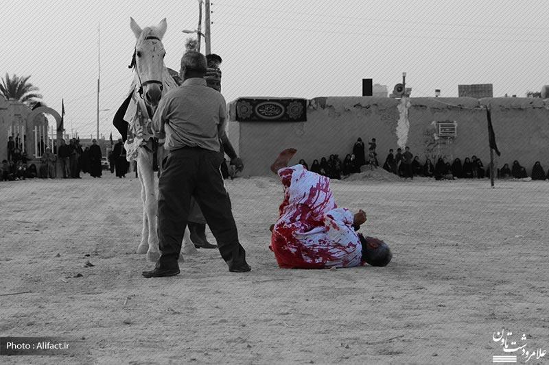 تصاویر تعزیه روز 7 محرم 94 - علامرودشت
