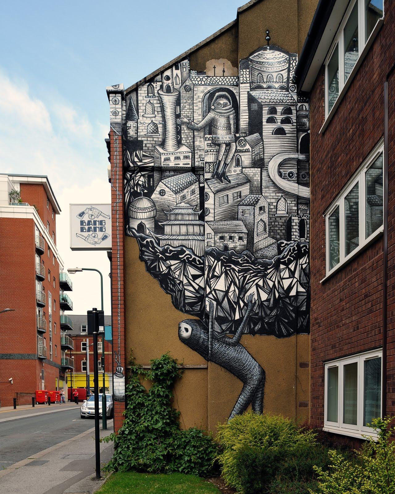 گرافیتی -Graffiti - تجربه دیگران - phlegm artist