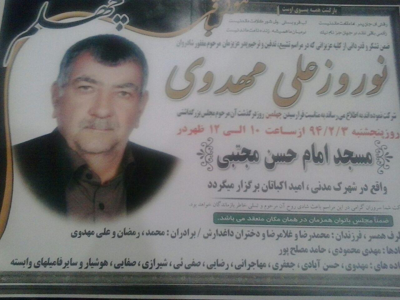 نوروز علی مهدوی