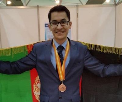 کسب مدال برنز مسابقات جهانی آلمان توسط مخترع جوان کشور مصطفی رضایی