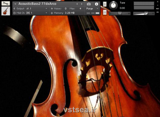 دانلود وی اس تی باس آکوستیک Premier Sound Factory - Acoustic Bass Premier 2